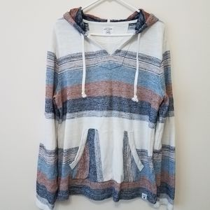 Lucky Brand Athletics Hooded Poncho